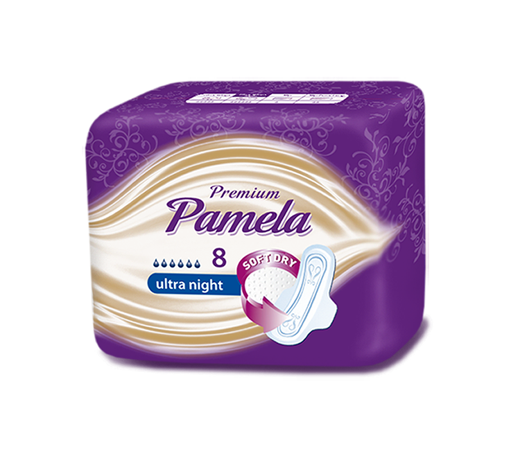 Pamela Premium Ultra Night 8